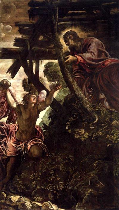 2013-21. Saint Augustin : deux sermons sur le jeûne. dans De liturgia le-tintoret-la-tentation-du-christ-au-desert
