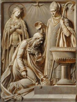 Le Baptême de Clovis (Versailles - cathédrale St Louis)