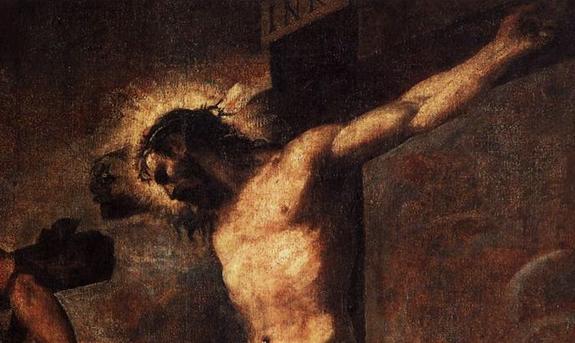 titien-le-christ-et-le-bon-larron-detail pardon