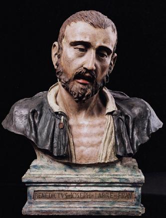 cesare-tiazzi-buste-de-benoit-joseph-labre-realise-en-1784 Monseigneur Pie