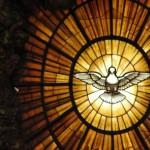 Vitrail Saint-Esprit Basilique Vaticane