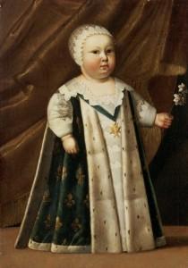 Louis XIV enfant