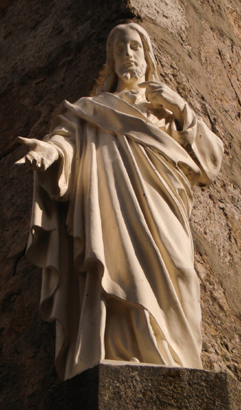 2013-73. Je demandai comment il se faisait que le sacrifice de la Croix n'ayant été offert qu'une seule fois ait été suffisant pour racheter toutes les âmes, et que, renouvelé tant de fois, il ne suffit pas à les sanctifier toutes. dans Nos amis les Saints sacre-coeur-cenacle-la-louvesc