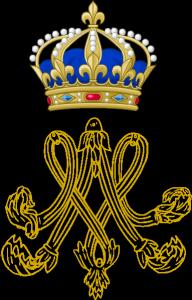 monogramme-de-la-reine-192x300 duchesse d'Angoulème