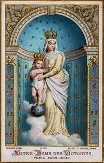 Litanies de Notre-Dame des Victoires. dans De Maria numquam satis notre-dame-des-victoires