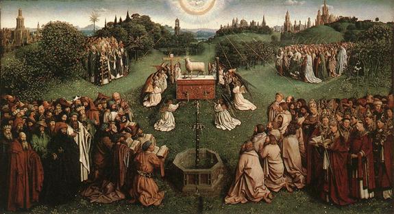Adoration de l'Agneau