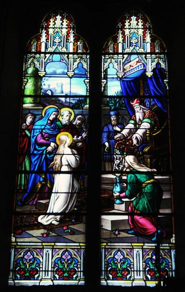 La Présentation de Marie (église Saint-Martin, Vals-les-Bains)