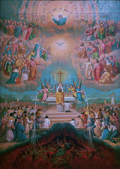 2013-80. Des trois états de l'unique Eglise. dans De liturgia la-communion-des-saints