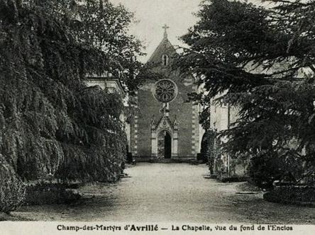 Avrillé champ des martyrs chapelle St Louis