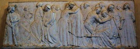 bas-relief-des-quatorze-prêtres-martyrs-de-laval