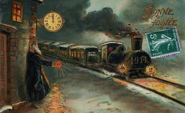 bonne année 1914
