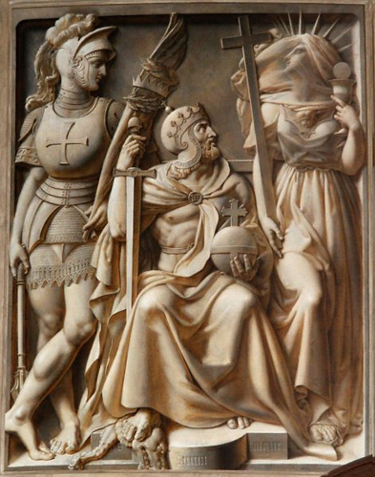 Cathédrale de versailles - bas relief