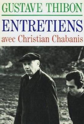 Entretiens avec Christian Chabanis