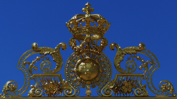 Grandes armes de France - grille de Versailles