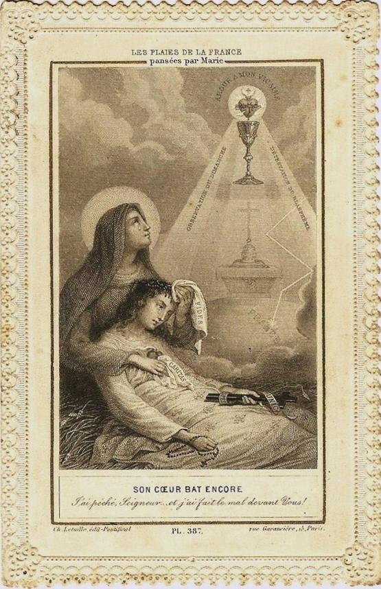 les plaies de la France pansées par Marie