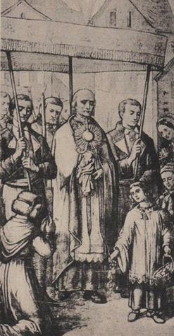 Retour des Saintes Hosties à l'église