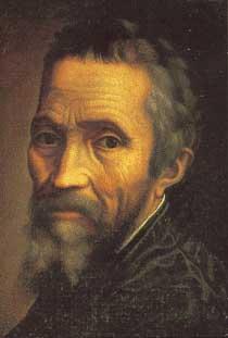 Autoportrait Michel-Ange