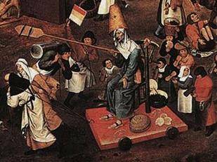 Brueghel bataille détail=carême