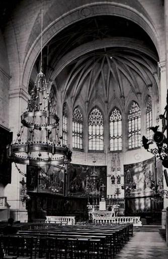 Cathédrale de Viviers intérieur