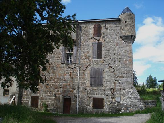 Château du Grail façade ouest