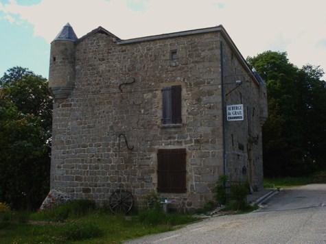 Château du Grail façades sud et est
