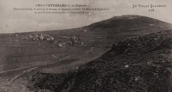 Chaudeyrolles au début du XXe siècle