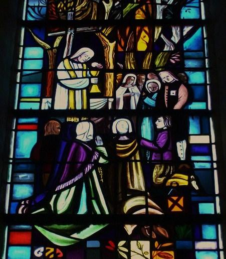 Le Bx Guillaume Repin célébrant la Messe la nuit dans les bois