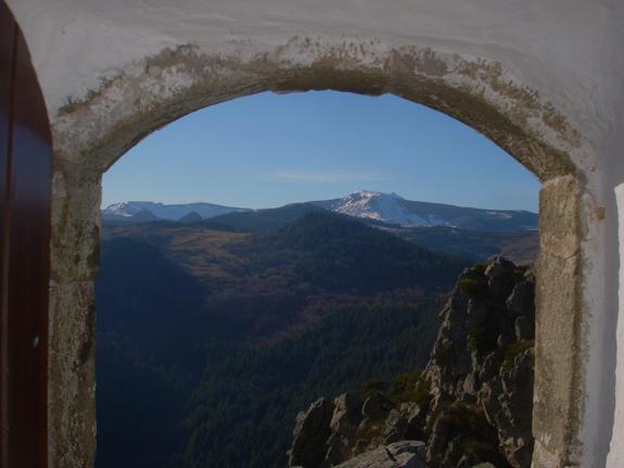 Mont Mézenc depuis Soutron 23 février 2014