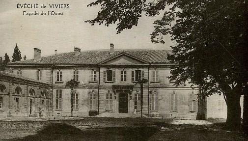 Viviers - palais épiscopal