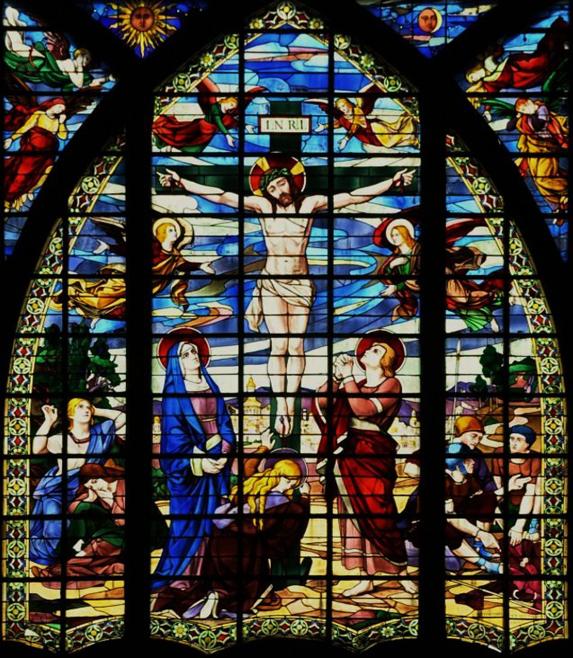 Vitrail église St Jean de Montmartre