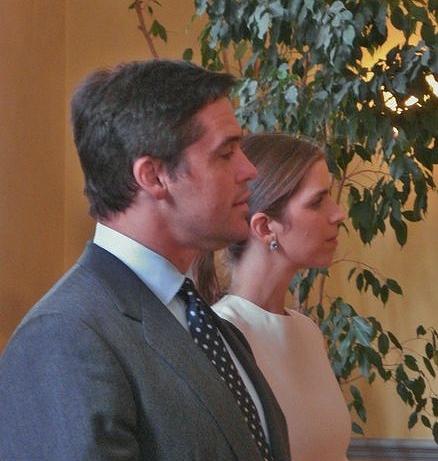 Accueil du Prince Louis et de la Princesse Marguerite à l'Hôtel de Ville