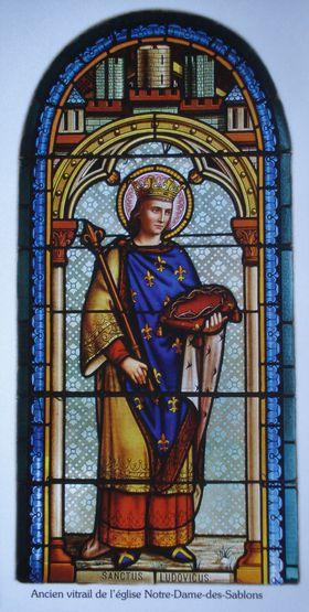 Image souvenir du 8e centenaire de Saint Louis offerte par la paroisse d'Aigues-Mortes