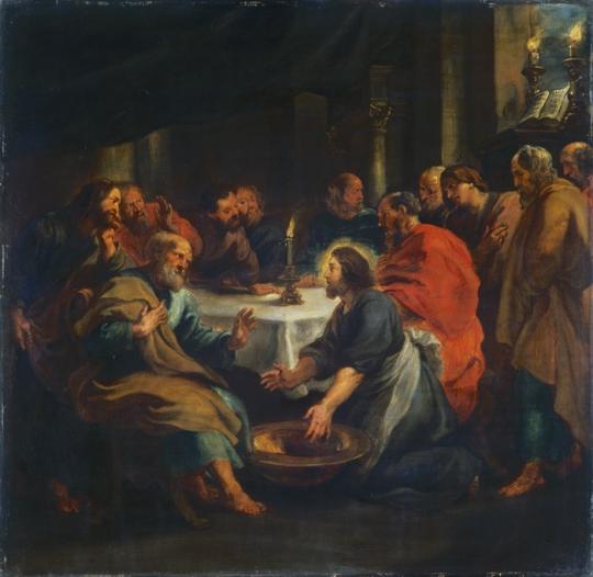 Le lavement des Pieds Pierre-Paul Rubens