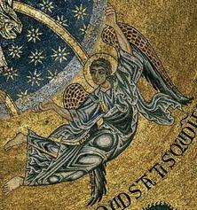 Basilique St Marc Venise mosaïque 1175-1200 - Ange 1