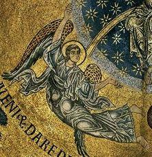 Basilique St Marc Venise mosaïque 1175-1200 - Ange 2