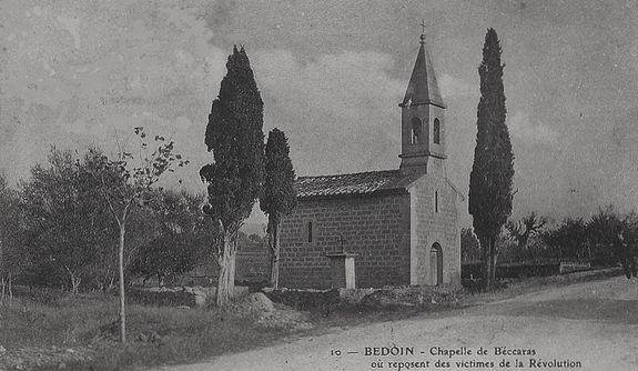 Bédoin la chapelle de Béccaras