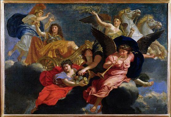 Charles le Brun apothéose de Louis le grand