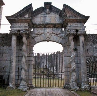 Château de Boulogne - porte de style Louis XIII