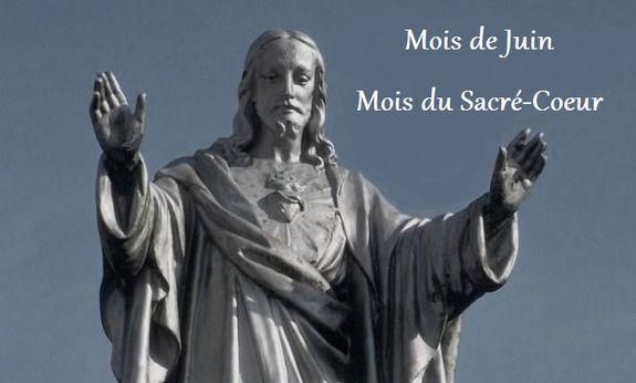 Mois de Juin = Dévotion au Sacré Coeur Mois-du-sacre-coeur
