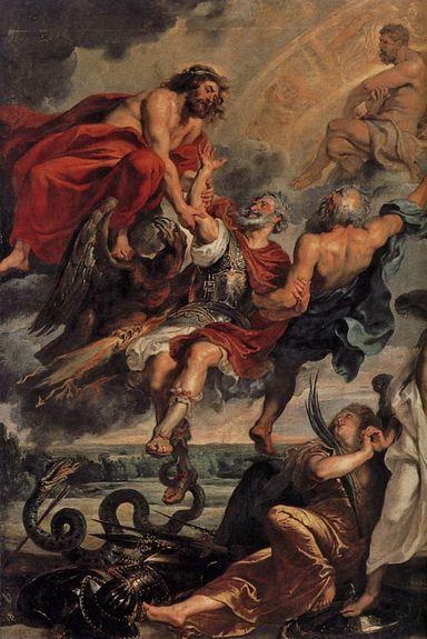 Rubens l'apothéose d'Henri IV - détail