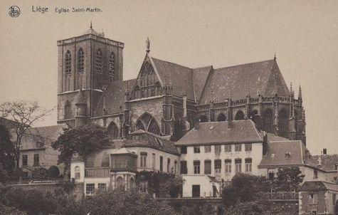 Liège collégiale-basilique Saint-Martin