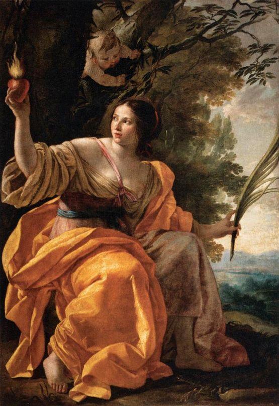 Simon Vouet la Charité (vers 1640 - Louvre)