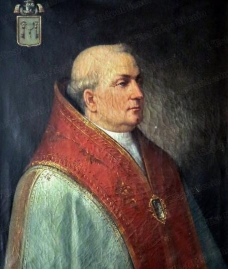Urbain IV portrait conservé à l'évêché de Verdun