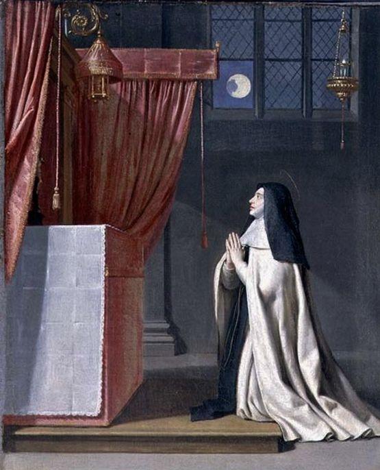 Vision symbolique de Sainte Julienne du Mont-Cornillon