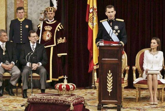 19 juin 2014 prestation de serment du roi Philippe VI (1)