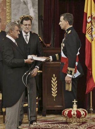 19 juin 2014 prestation de serment du roi Philippe VI (2)