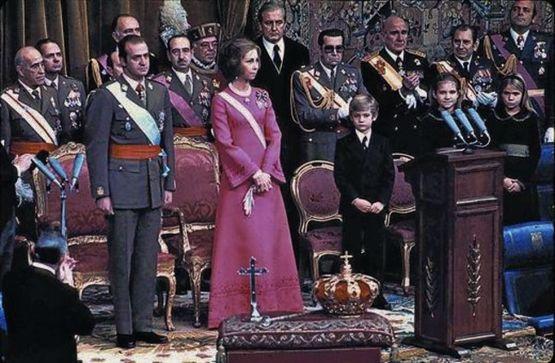 22 novembre 1975 prestation de serment du roi Jean-Charles 1er (1)