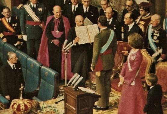 22 novembre 1975 prestation de serment du roi Jean-Charles 1er (3)