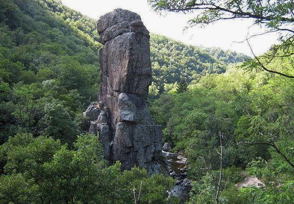 La roche péréandre - vallée de la Cance - Vernosc