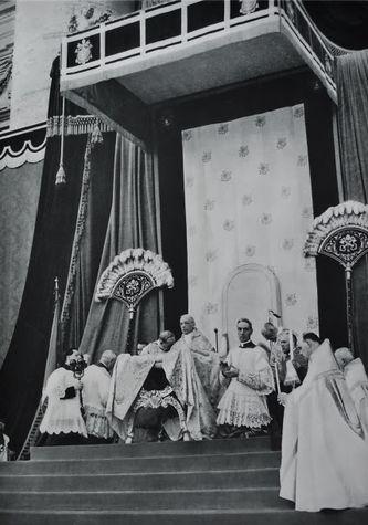Pie XII cérémonie de canonisation de St Pie X 29 mai 1954